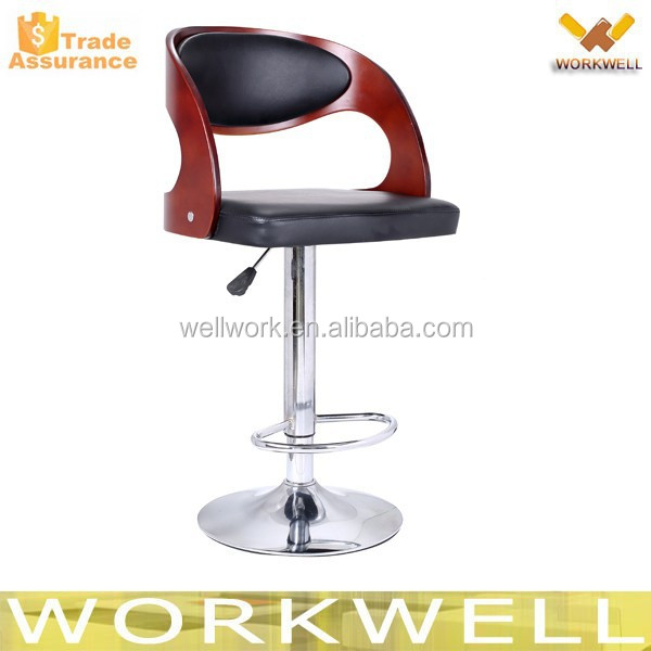 WorkWell high plywood bar chair/bar stools/barstool kw-B2365