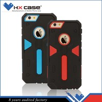 Shockproof accessories cases for 6 phone 2 in 1 pc + tpu back cover