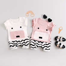 wholesale boy summer Korean new children's cotton sets boys shorts two-piece18 clothes boy kids clothing