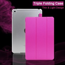 Cheaper Normal Quality Multi-stand Tablet PC Protective Cover Leather Case for Ipad Mini 4