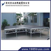 aluminum stage brace, stage stand, stage risers