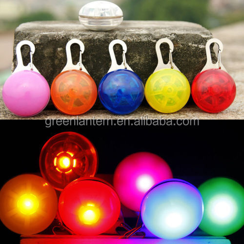 DOG/CAT PET LED GLOW TAG PENDANT FLASHING SAFETY NIGHT LIGHT COLLAR
