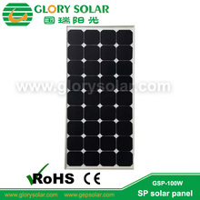 SP cells high efficiency flexible 100W solar panel