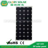 sunpower cells high efficiency flexible sunpower 100W solar panel