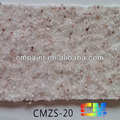 CMZS-19 Multi color acrylic resin waterproof natural stone paint