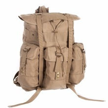 custom army canvas backpack tactical military