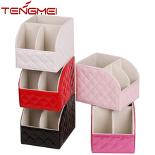 Remote control pencil makeup holder home desk organizer