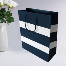 Luxury customized packaging gift bag cloth fashion paper shopping bag