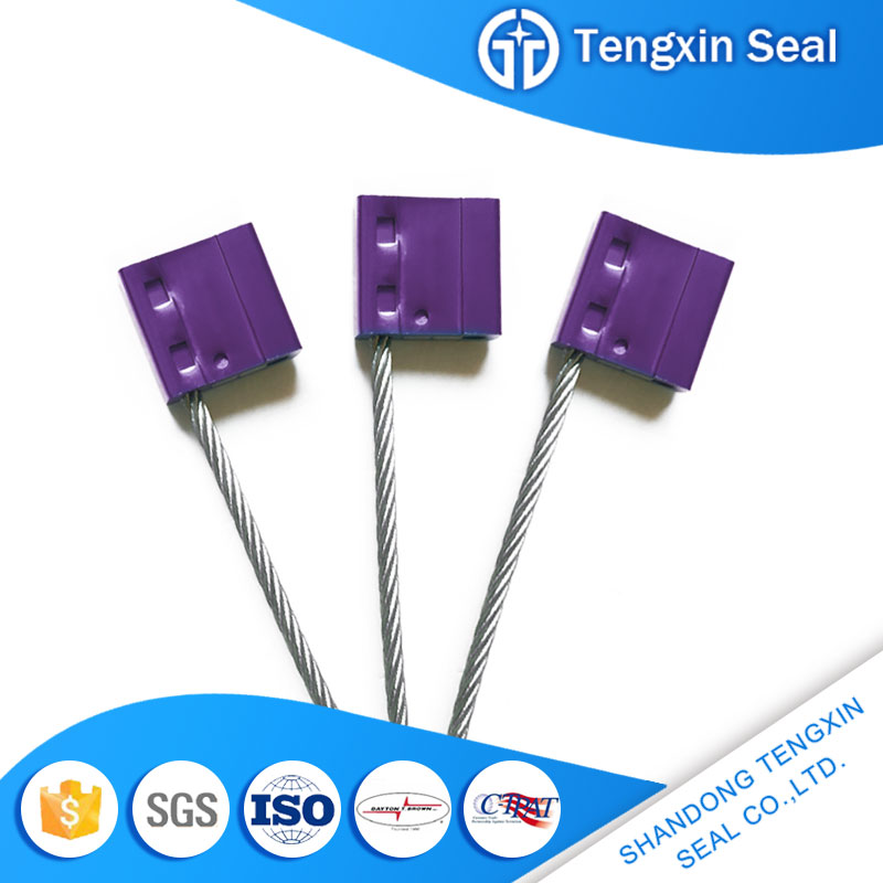 TX-CS103 Availability timely single use steel wire cable seal