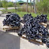 Black Painted Studless anchor chain