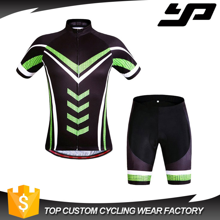 Custom dye sublimation cycling wear short sleeve specialized bicycle jersey