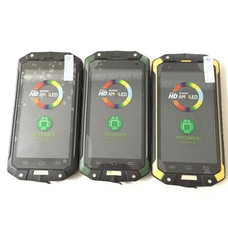 Discovery V9 waterproof phone dual core android 4.4 4G ROM 4000mah battery GPS WIFI WCDMA phone