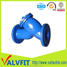 ground works pipeline products Ductile Iron Y Strainer for contractors
