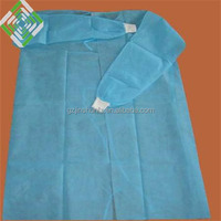 Jinshun nonwoven disposable patient gown sms surgical gown