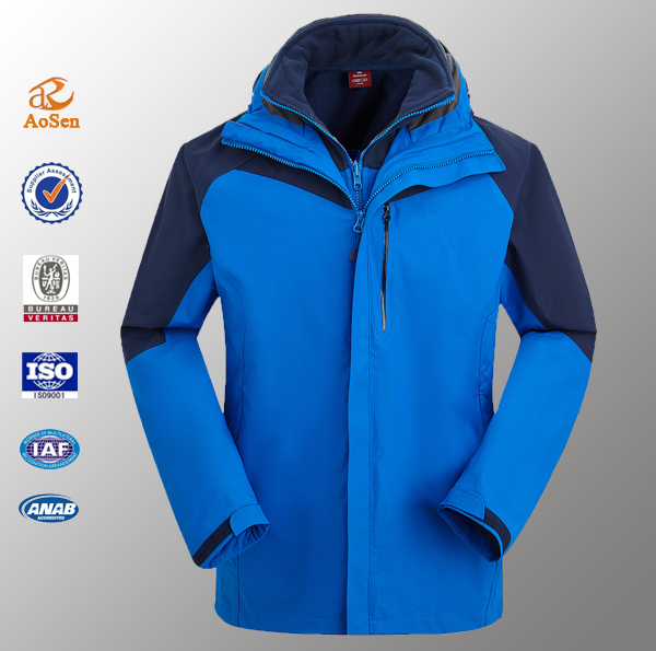 Latest fashion trends waterproof wholesale sportswear xxxl winter jacket men