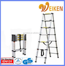 NEW compact GS standard 3.8 Aluminum Telescoping Step Ladder / ladder stabilizer with finger protection