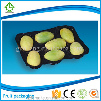 Factory Direct Sale Customized Perforated Blister Packaging Plastic Fruit & Vegetable Display Trays