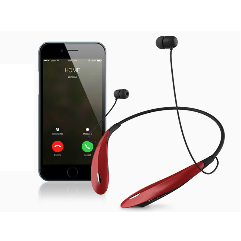 wireless bluetooth Sport Headset Earphone for Samsung LG phone