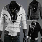 Men's Slim Fit Sexy Jackets Coats Top Designed Hoodies