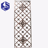 Newly design laser cut metal panel home decor interior room divider