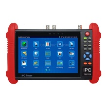 Multi-function IPC-9800 Plus 7 inch touch screen 5MP 4MP HD TVI/CVI/AHD/SDI IP Camera CCTV Tester