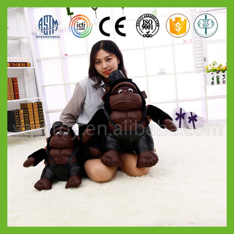 wholesale white produce stuffed chimpanzee for girls