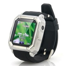 "Quadband Watch Phone ""Mercury"" - Android Pairing, Bluetooth, Camera, Touch Screen(WP-i900)"