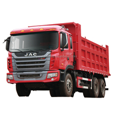 Hot selling 6*4 JAC heavy duty truck, 10m3 tipper truck price