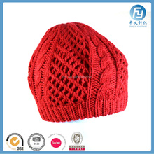 2017 factory fashion custom women knitted beret