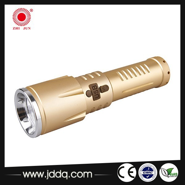 XML T6 Superbright high power flashlight aluminum led torch