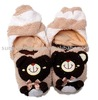 plush house slipper/plush toy slipper/plush animal house shoes