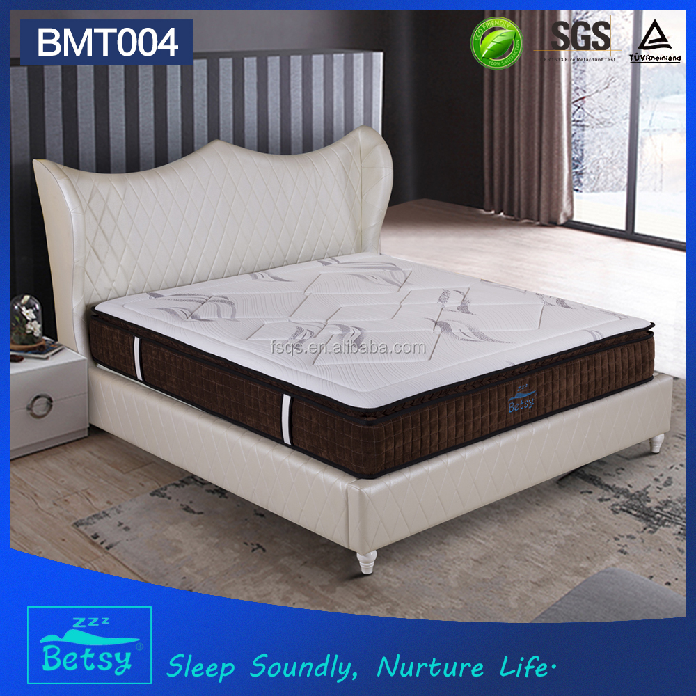 OEM durable angel dream mattress 27cm with 5 zone pocket spring and relaxing memory foam