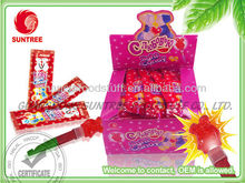 Christmas star shape light candy lollipop candy