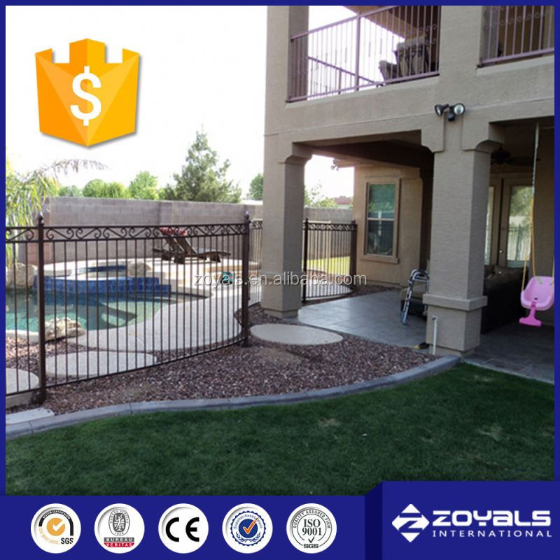 Flexible Removable Iron Pool Safety Fence