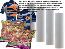 new sticky sublimation paper 100g fast dry