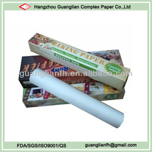 non-stick greaseproof silicone coated parchment paper kertas minyak