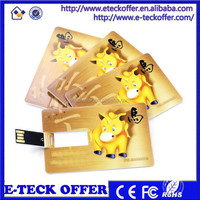 bulk 1GB 2GB 4GB business card usb flash drive