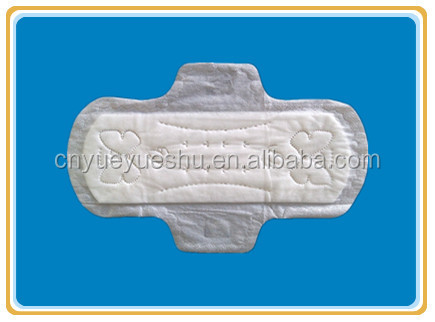 plastic bags packed sanitary pads for day use