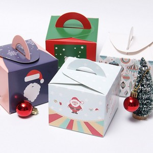 Custom Kraft Paper Boxes Wedding, Christmas Candy, Cake Packaging Boxes Muffin Biscuit Cookie Macaron Gift Box