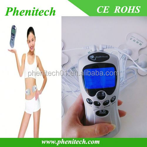 Wholesale new portable tens electronic pulse massager