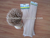 cheap price!!! round bamboo barbecue sticks with OPP bags 100pcs