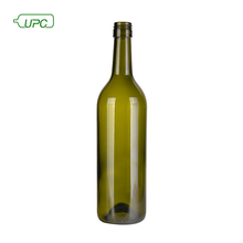 Different type empty recycled 500ml red wine alcohol glass bottle