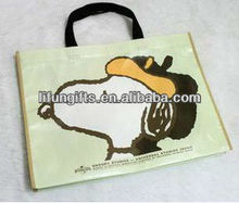2014 Promotional snoopy shopping bags
