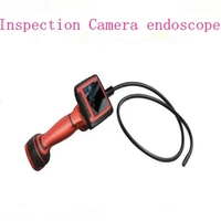 portable endoscope 3.5inch LCD Screen DVR 3x Zoom OD 9mm Video Borescope inspection camera