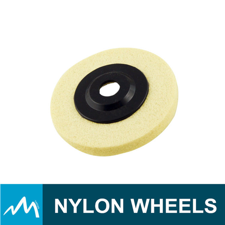 Promtional China factory price abrasive nylon wheel brush