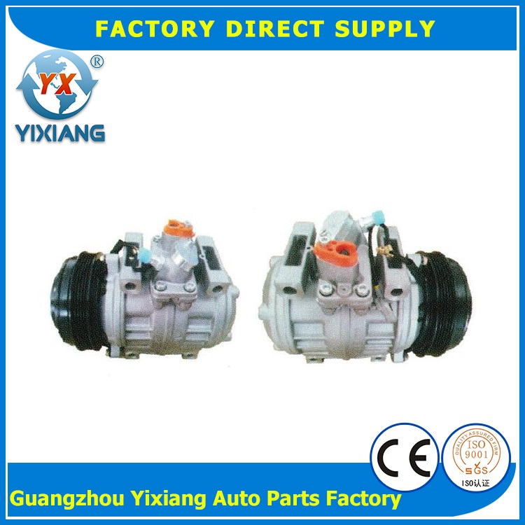 Electric car ac compressor auto Air conditioning compressor 447220-0394 for Toyota coaster