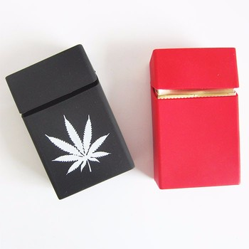 Colorful Soft OEM Personality Elastic Rubber Silicone Cigarette Case Tobacco Cover Sleeve Box