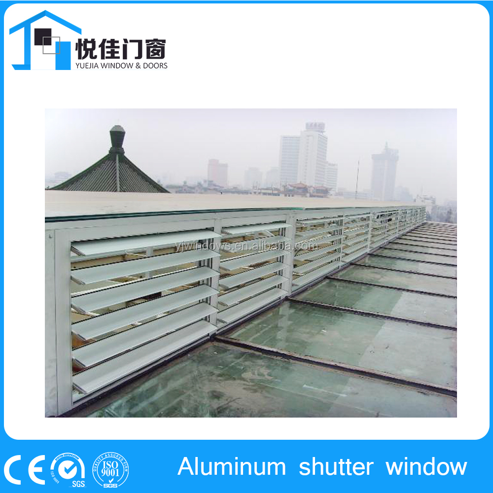 2016 Nice design adjustable glass louvres, bathroom window louvers