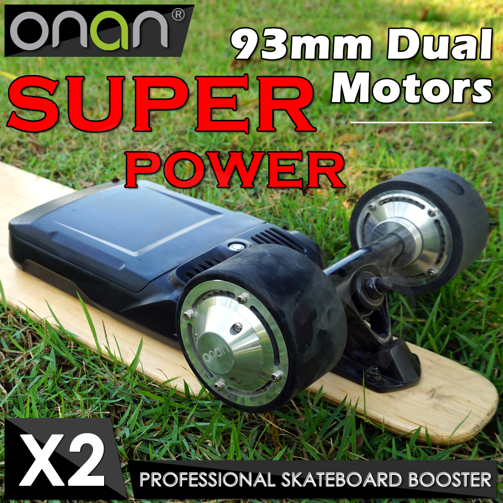 ONAN X2 Four Wheels Portable Kids Electric Vehicle