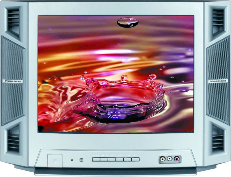 14 low price crt color tv